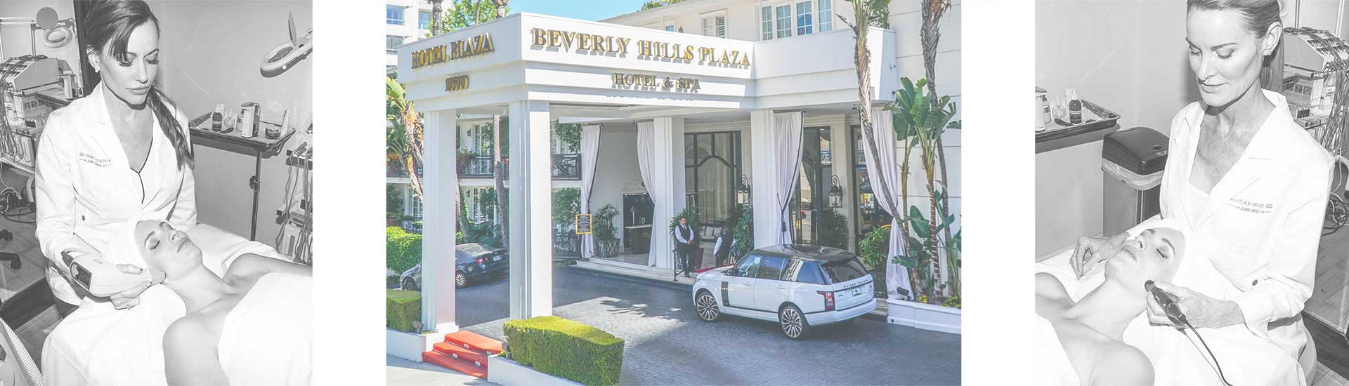 Beverly Hills Plaza Hotel Medi Spa Endorsments