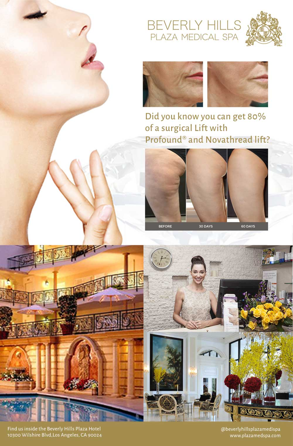 Beverly Hills Plaza Medical SPA - Ad